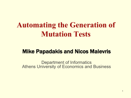 An Effective Path Selection Strategy for Mutation Testing