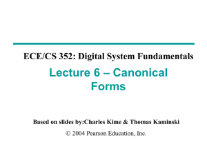 PPT - ECE/CS 352 On