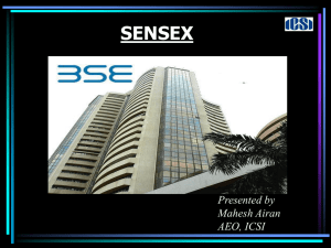 What is SENSEX? - ICSI Knowledge Portal