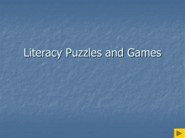 Size: 421 kB Wed, 18 Sep 2013 Literacy Puzzles & Games