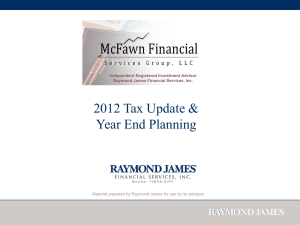 2012-Tax-Update - mcfawnfinancial.com