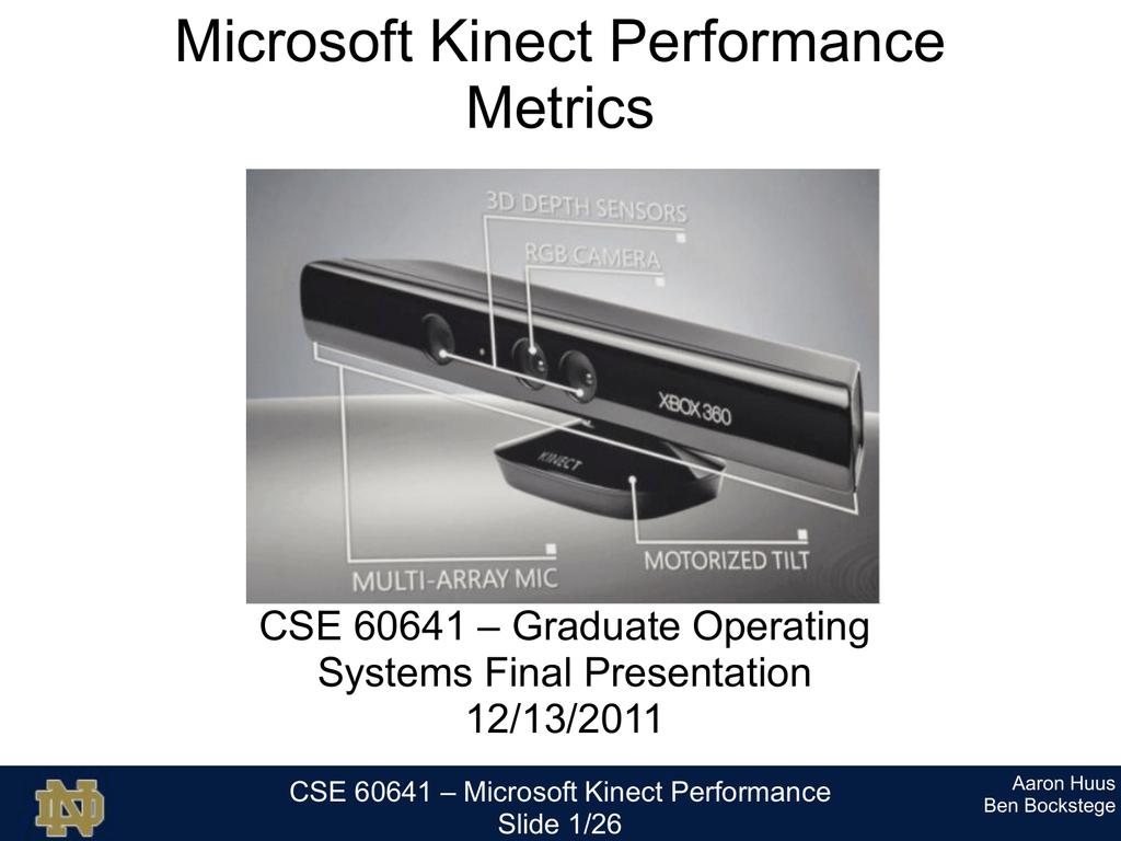 Microsoft_Kinect_Performance_Final_Presentatio