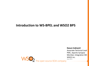 Introduction to WS-BPEL