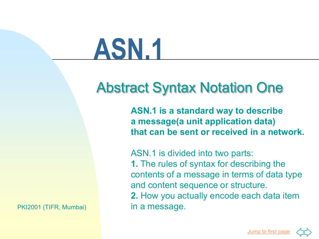ASN 1