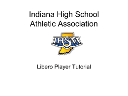 Libero Tutorial (PowerPoint)