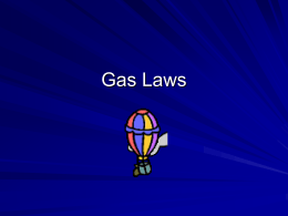 Gas Laws - Course