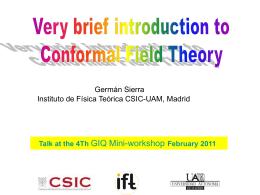 Barcelona, 2011 - IFT UAM/CSIC: members