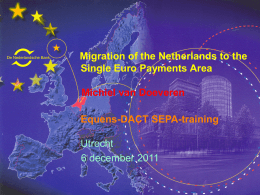 SEPA Regulation