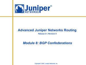 BGP Confederations - J-Net Community