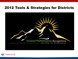 JTE 2012 District Tools