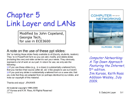 Chapter5-LANs - Communications Systems Center (CSC)