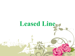 What is Leased Line