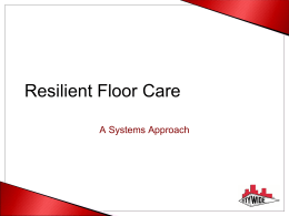 HP Resilient Floor Care