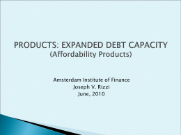AIF_Products_Expanded_Debt_Capacity_June 2010