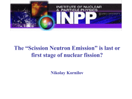235U Prompt Fission Neutron Spectra - Conflict of the - CEA-Irfu