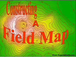 How to Construct a Field Map
