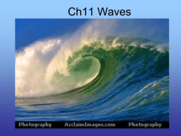 Ch14 Waves