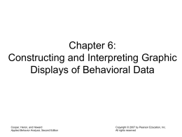 Constructing and Interpreting Graphic Displays of Behavioral Data