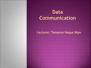 Data Communication and Computer Networks 1303330
