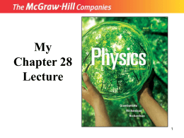 Chapter 28: Quantum Physics