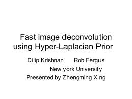 Fast image deconvolution using Hyper