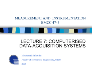 MEASUREMENT AND INSTRUMENTATION BMCC 4743