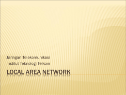 modul 3 LOCAL AREA NETWORK