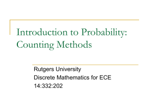 "Powerpoint Slides ""Intro to Probability"""