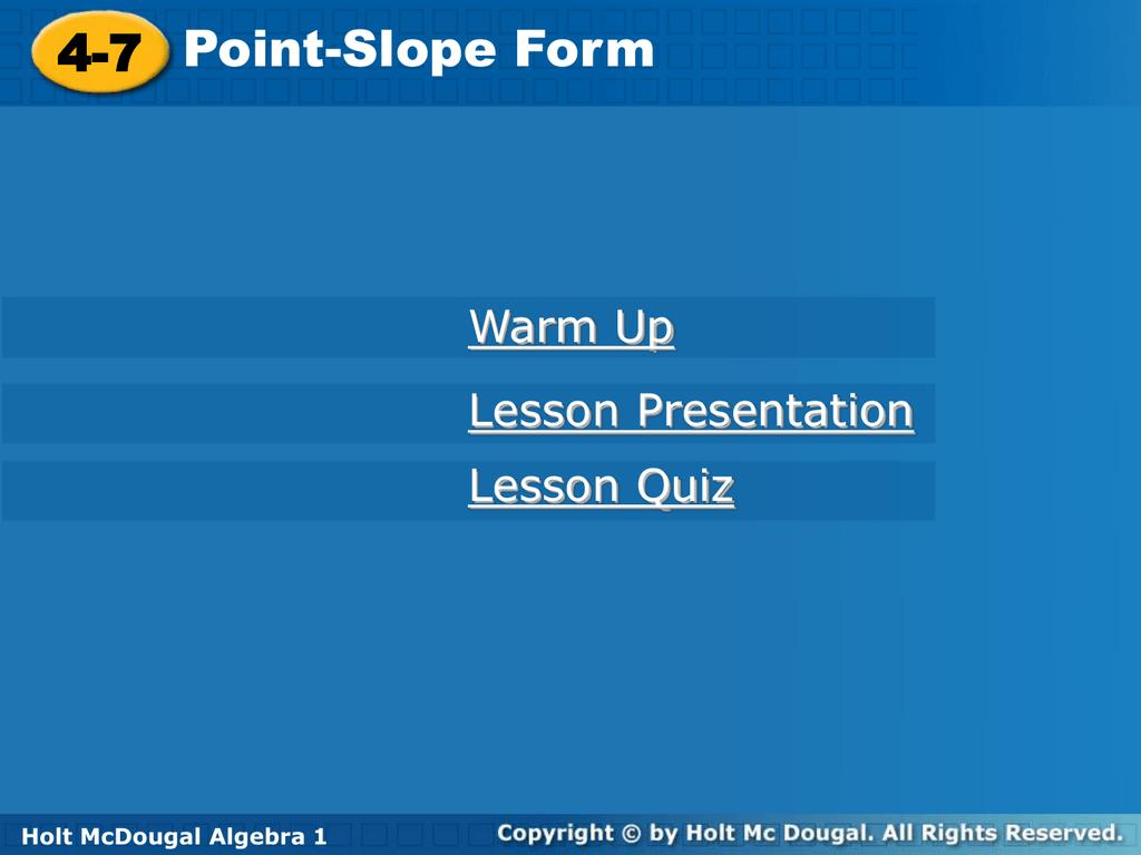 Lesson 4 7