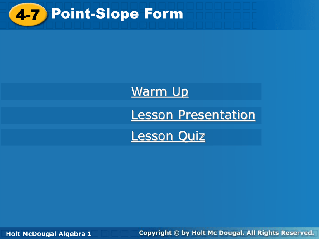 Lesson 4 7 falaconquin