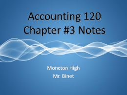 Chapter 3 - NBVHS Notes