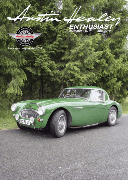 ENTHUSIAST - Austin Healey Club Sweden