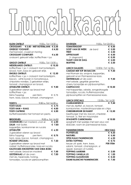 ETEN - FOOD MENU