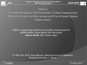 FISICA Far Infrared Space Interferometer Critical Assessment