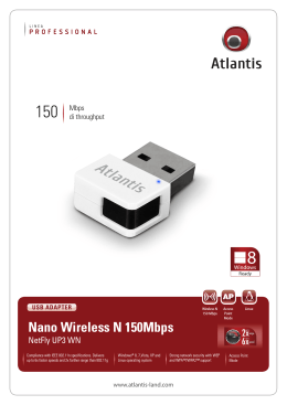 Nano Wireless N 150Mbps
