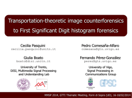Transportation-theoretic image counterforensics to