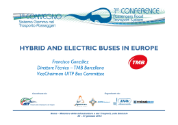 vice chairman UITP Bus Committtee, Tech. manager TMB