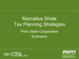 PA income tax - Pennsylvania Institute of Certified Public Accountants