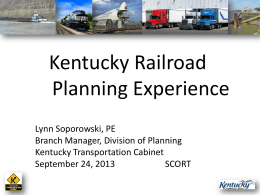Tuesday - 315-430 Rail Planning-Soporowski