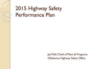 2015 Highway Safety Performance Plan