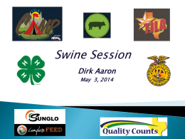 Swine Session 03MAY1..