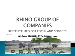 RHINO GROUP OF COMPANIES
