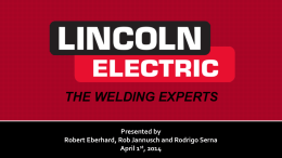 About Lincoln Electric