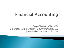 Financial Accounting (Presentation)