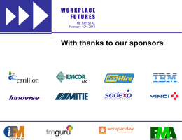 Balfour Beatty Workplace - Workplace Futures Conference