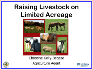 Adding livestock to increase farm sales and enhance sustainability