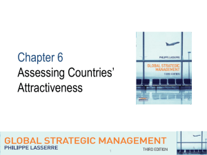 Chapter6-Assessing countries attractiveness