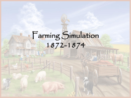 Farming Simulation 1872-1874