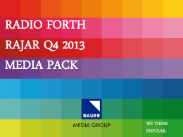 Radio forth - Bauer Media