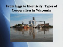 Types of Cooperatives in Wisconsin